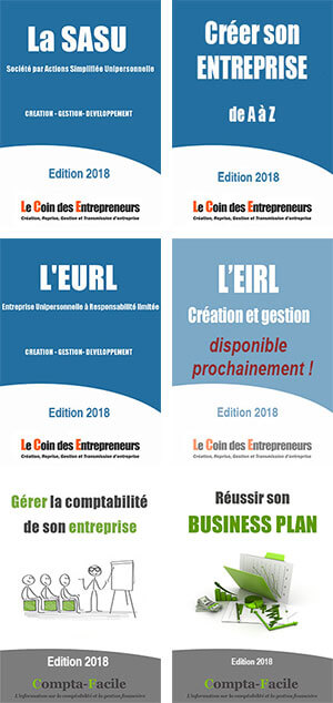 livre de la création d'entreprise