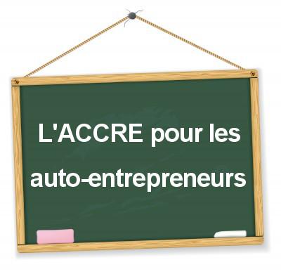 taux de cotisations sociales pour les auto-entrepreneurs qui ont l'accre