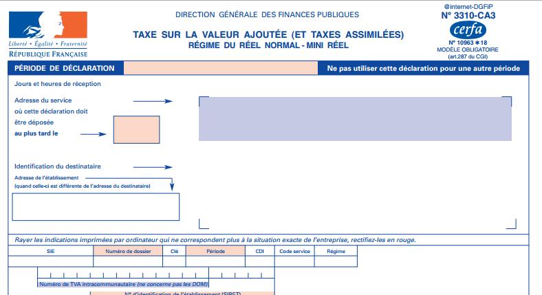 formulaire 3310ca3
