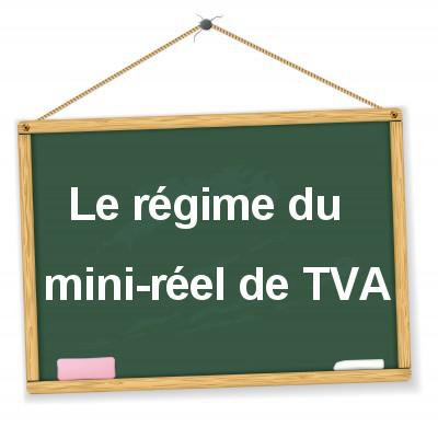 régime mini-réel de TVA
