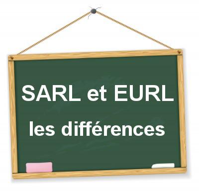 les différences entre la SARL et l'EURL
