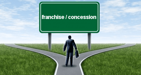 franchise et concession différences