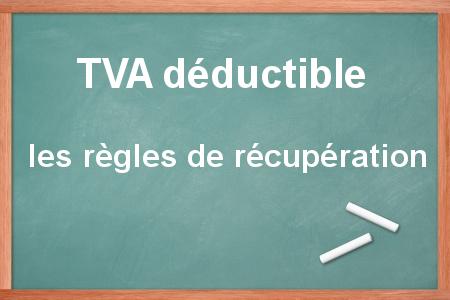 droit à déduction de la TVA sur les dépenses