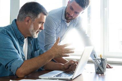 gestion poste clients entreprise